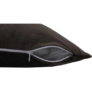 Kép 10/13 - Párna, bársony anyag sötétbarna, 45x45, ALITA TYP 7