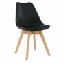 Kép 1/5 - Modern szék bükk és  fekete BALI NEW