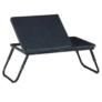 Kép 1/2 - Laptop asztal notebook asztal laptoptartó fekete EVALD