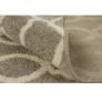 Kép 7/12 - Szőnyeg, világosszürke/minta elefántcsont, 160x235, DESTA