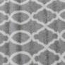 Kép 6/12 - Szőnyeg, világosszürke/minta elefántcsont, 57x90, DESTA
