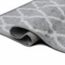 Kép 2/12 - Szőnyeg, világosszürke/minta elefántcsont, 160x235, DESTA
