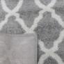 Kép 11/12 - Szőnyeg, világosszürke/minta elefántcsont, 160x235, DESTA