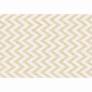Kép 1/3 - Szőnyeg, bézs-fehér minta, 67x120, ADISA TYP 2