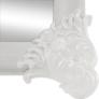 Kép 13/16 - Álló tükör, fehér/ezüst, CASIUS