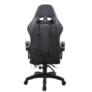 Kép 4/9 - Irodai/gamer szék RGB LED háttérvilágítással, fekete, MAFIRO