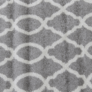 Kép 1/12 - Szőnyeg világosszürke minta elefántcsont 160x235 DESTA