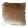 Kép 1/3 - Párna báránybőr utánzat bézs 45x45 ROSALINE
