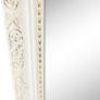 Kép 2/17 - Álló tükor, fehér/arany dísz, LAVAL