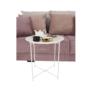 Kép 5/17 - Kisasztal levehető tálcával, fehér, RENDER