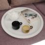 Kép 3/17 - Kisasztal levehető tálcával, fehér, RENDER