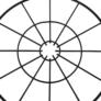 Kép 12/19 - Kisasztal, fehér/fekete, SALERO