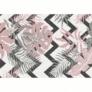 Kép 1/4 - Szőnyeg, sokszínű, leveles minta, 67x120, SELIM