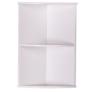 Kép 1/5 - Fali sarokszekrény fehér ATENE TYP 4
