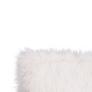 Kép 4/7 - Párna, fehér/ezüst, 45x45, FOXA TYP 1
