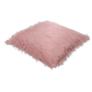Kép 4/8 - Párna, rózsaszín/arany-rózsaszín, 45x45, FOXA TYP 3