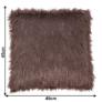 Kép 2/7 - Párna, szürke-barna-taupe/ezüst, 45x45, FOXA TYP 4