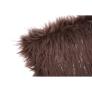 Kép 4/7 - Párna, szürke-barna-taupe/ezüst, 45x45, FOXA TYP 4