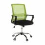 Kép 5/16 - Irodai szék, háló zöld/fekete anyag, APOLO