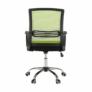 Kép 6/16 - Irodai szék, háló zöld/fekete anyag, APOLO