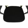 Kép 14/16 - Irodai szék, háló zöld/fekete anyag, APOLO