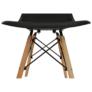 Kép 10/25 - Modern szék, bükk+ fekete, PC-015, CINKLA 2 NEW