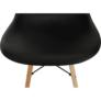 Kép 11/25 - Modern szék, bükk+ fekete, PC-015, CINKLA 2 NEW