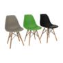 Kép 15/24 - Modern szék, bükk+ fekete, CINKLA3 NEW