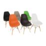 Kép 16/25 - Modern szék, bükk+ fekete, PC-015, CINKLA 2 NEW