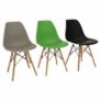 Kép 10/24 - Modern szék, bükk+ fehér, CINKLA 3 NEW