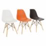 Kép 11/24 - Modern szék, bükk+ fehér, CINKLA 3 NEW