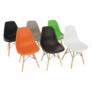 Kép 12/24 - Modern szék, bükk+ fehér, CINKLA 3 NEW