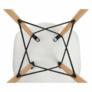 Kép 14/24 - Modern szék, bükk+ fehér, CINKLA 3 NEW