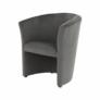 Kép 2/18 - Fotel, szürke anyag, CUBA