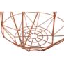 Kép 4/11 - kisasztal szett, természetes/réz, DALUX