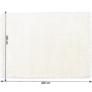 Kép 3/11 - Szőnyeg, hófehér, 140x200, AMIDA