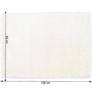 Kép 10/10 - Szőnyeg, hófehér, 80x150, AMIDA