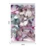 Kép 2/8 - Szőnyeg, rózsaszín/zöld/bézs/minta, 80x150, DELILA