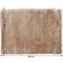 Kép 10/10 - Szőnyeg, cappucino, 170x240, BOTAN