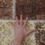 Kép 7/10 - Szőnyeg, barna, 80x150, ADRIEL TIP 2