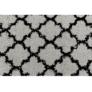Kép 4/11 - Szőnyeg, szürke/fekete, 133x190, TATUM tip 2