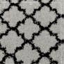 Kép 10/11 - Szőnyeg, szürke/fekete, 133x190, TATUM tip 2
