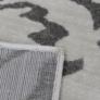 Kép 2/6 - Szőnyeg, bézs/szürke minta, 100x150, GABBY