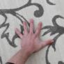 Kép 4/6 - Szőnyeg, bézs/szürke minta, 100x150, GABBY