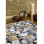 Kép 2/7 - Szőnyeg, színes, minta kövek, 80x120, BESS