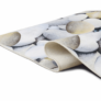 Kép 4/7 - Szőnyeg, színes, minta kövek, 80x120, BESS