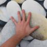Kép 5/7 - Szőnyeg, színes, minta kövek, 80x120, BESS