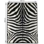 Kép 10/10 - Szőnyeg, minta zebra, 200x250, ARWEN