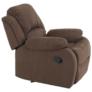 Kép 3/12 - Állítható relaxáló fotel, barna szövet, ASKOY