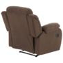Kép 4/12 - Állítható relaxáló fotel, barna szövet, ASKOY
